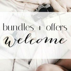 I love a bundle, make me an offer!